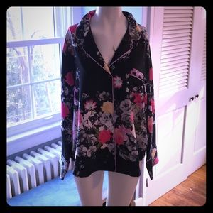 Victoria's Secret silky pajama top